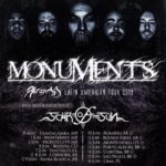 Latin America Tour June 2019 w/ MONUMENTS